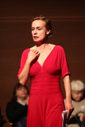 Sandrine Bonnaire – Arriving at Agnes Varda Tribute in Paris 04/02/2019