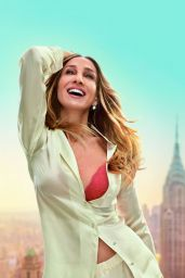 Sarah Jessica Parker - Photoshoot for Intimissimi Triangle Bra Collection April 2019