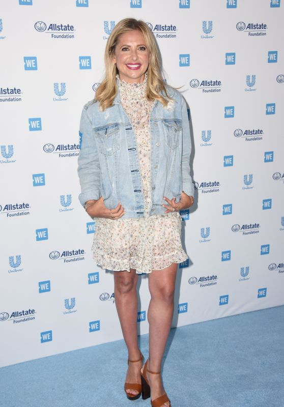 Sarah Michelle Gellar – WE Day California 2019