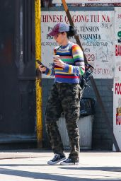 Sarah Silverman - Out in NYC 04/21/2019