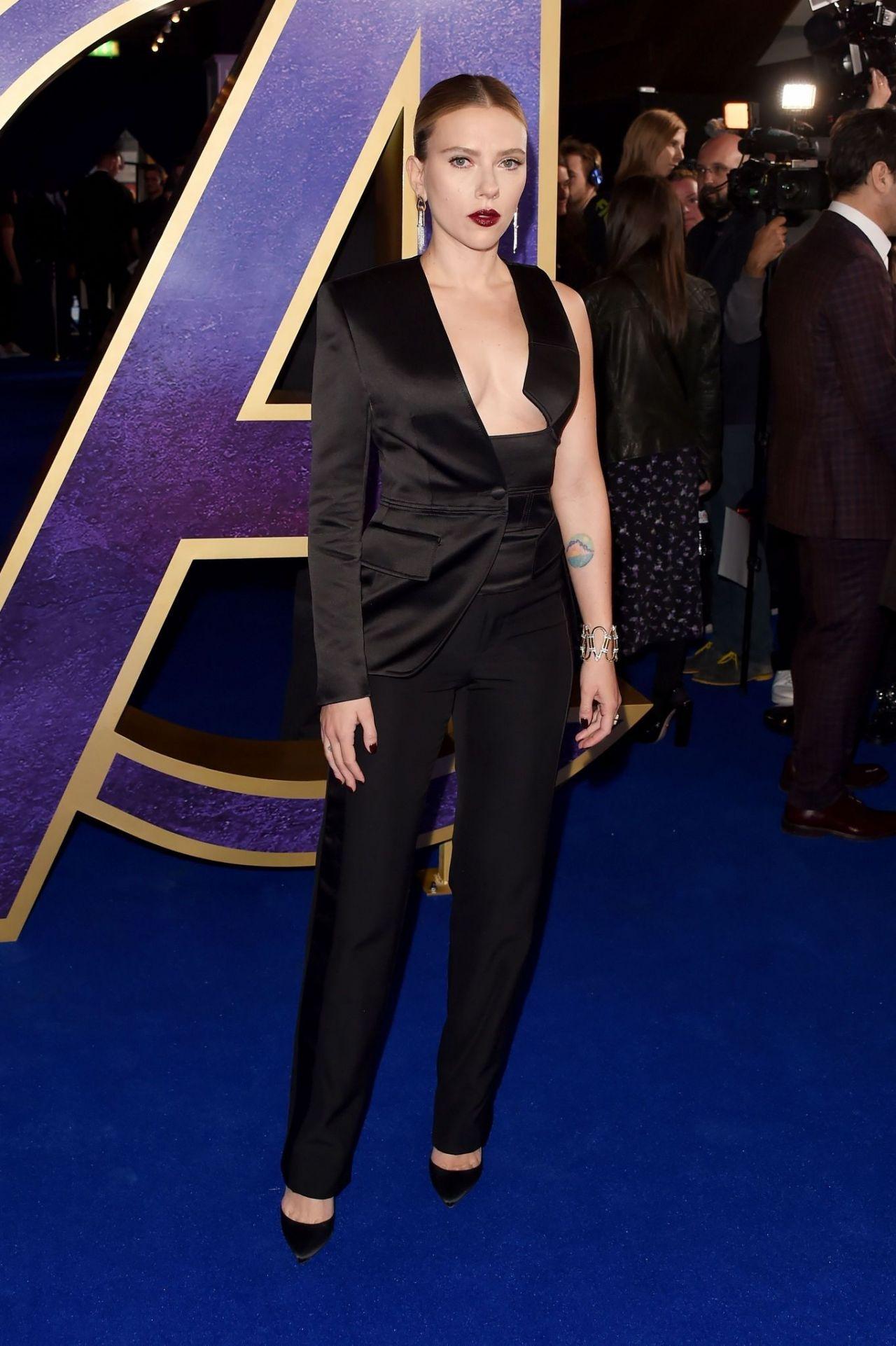 Scarlett Johansson Avengers Endgame Fan Event In London