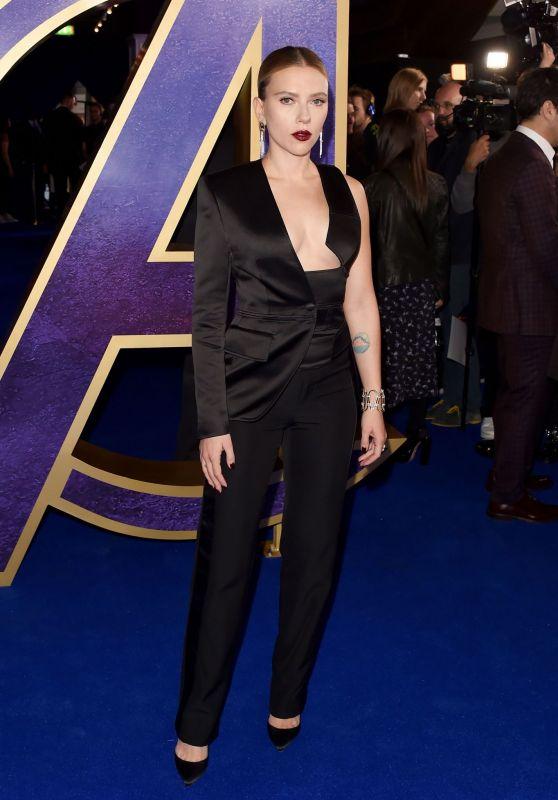 """Scarlett Johansson - """"Avengers: Endgame"""" Fan Event in London"""