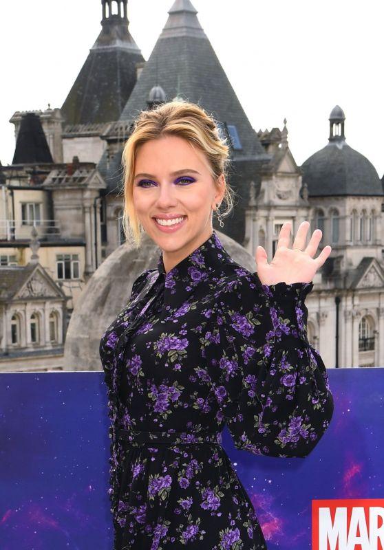 """Scarlett Johansson - """"Avengers: Endgame"""" Photocall in London"""
