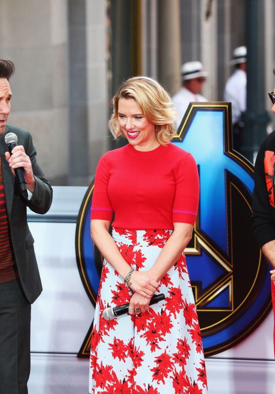"Scarlett Johansson - ""Avengers Universe Unites"" Charity Event in Anaheim 04/05/2019"