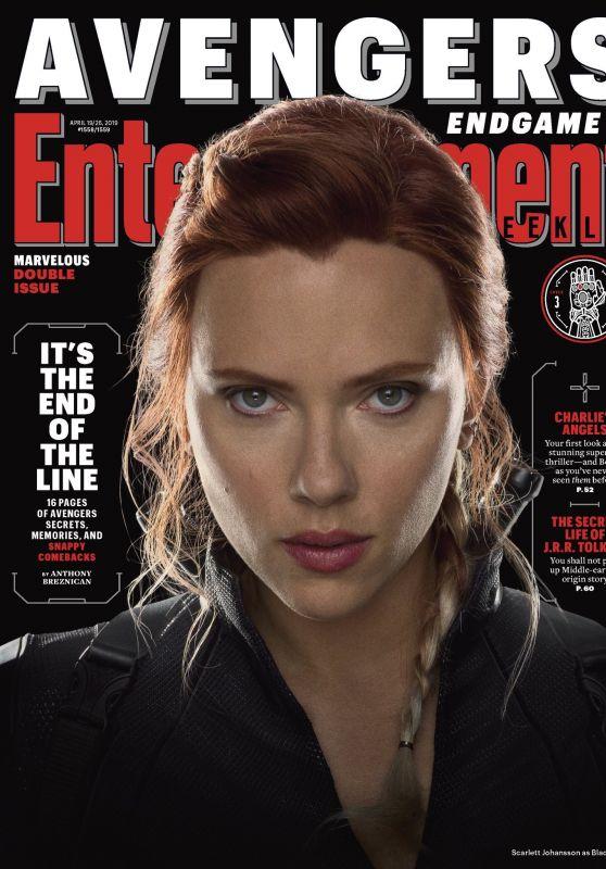 Scarlett Johansson - Entertainment Weekly Magazine April 2019 Cover