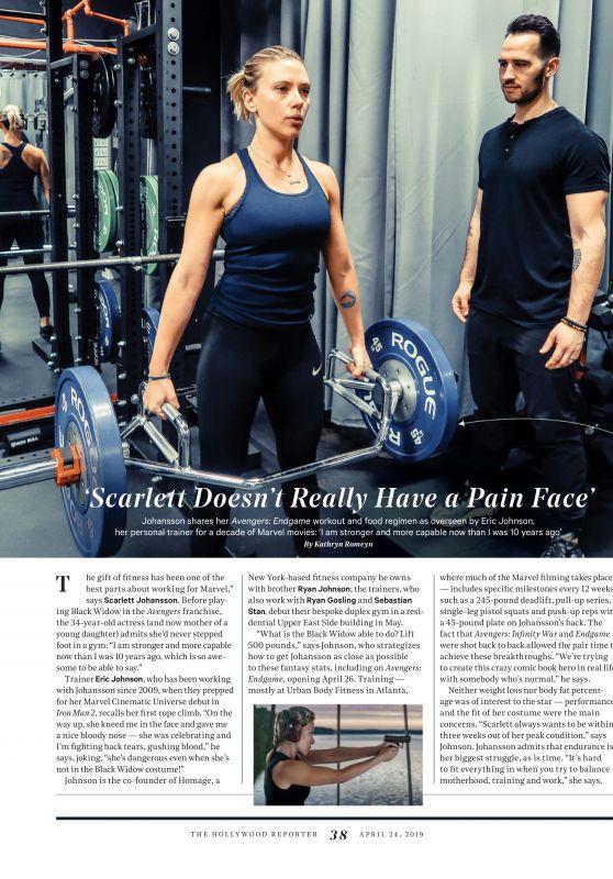Scarlett Johansson - THR Magazine April 2019 Issue