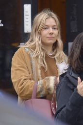 Sienna Miller - Out in NYC 04/11/2019