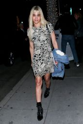 Sofia Boutella Night Out Style 04/17/2019