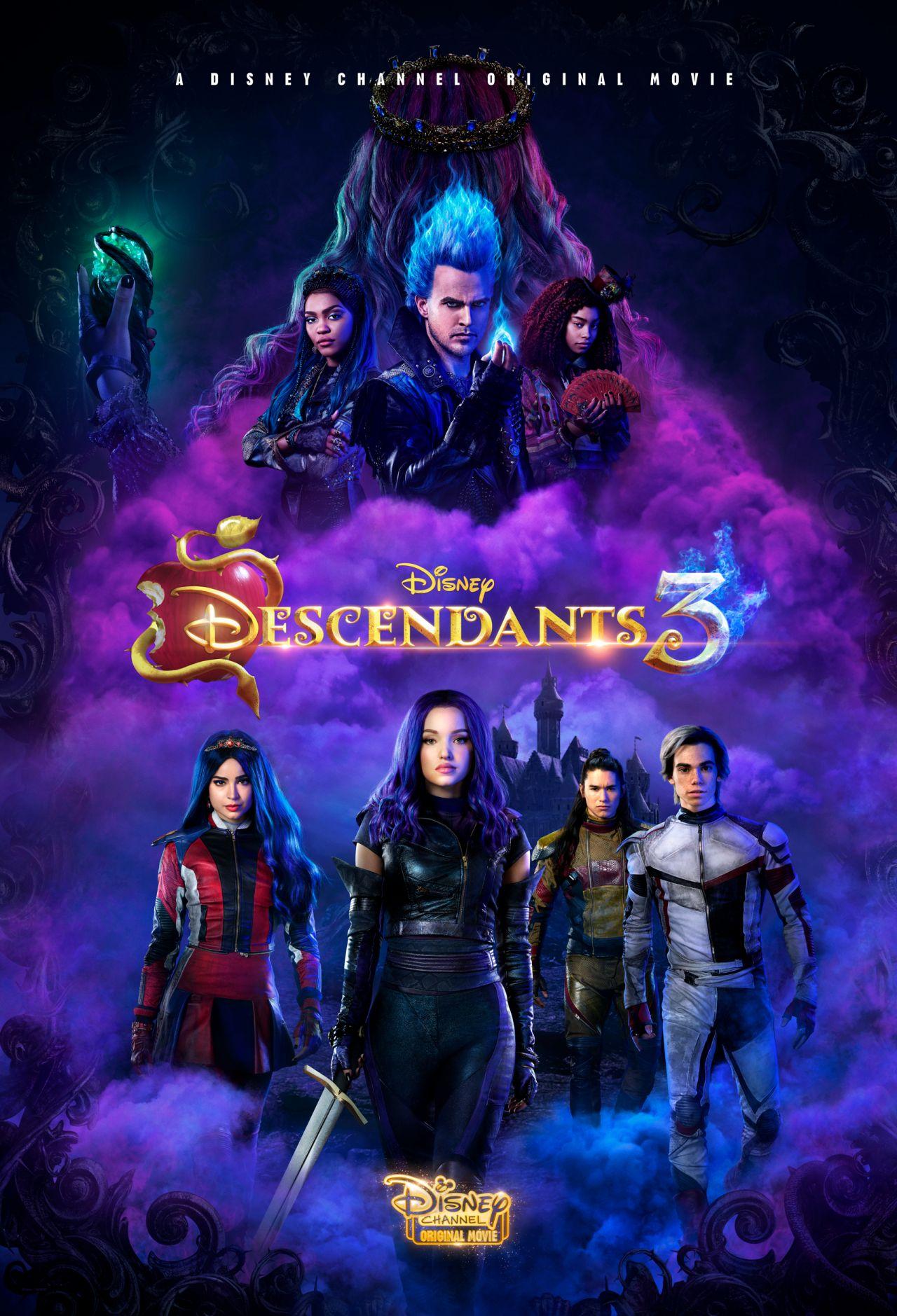 """Sofia Carson & Dove Cameron - """"Descendants 3"""" Poster"""