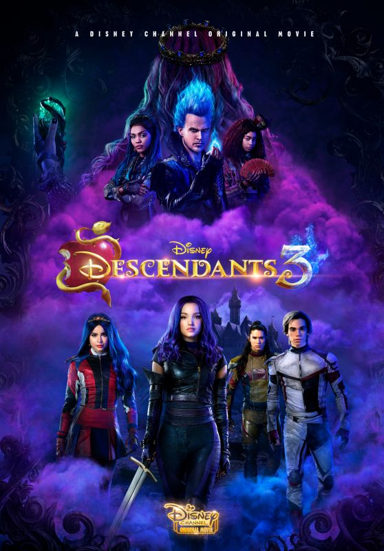 "Sofia Carson & Dove Cameron - ""Descendants 3"" Poster"