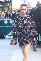 Sofia Carson - Outside BUILD Series in NY 04/01/2019
