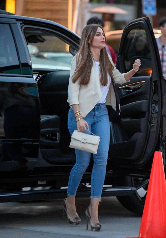 Sofia Vergara at a Sushi Restaurant in Los Angeles 04/06/2019