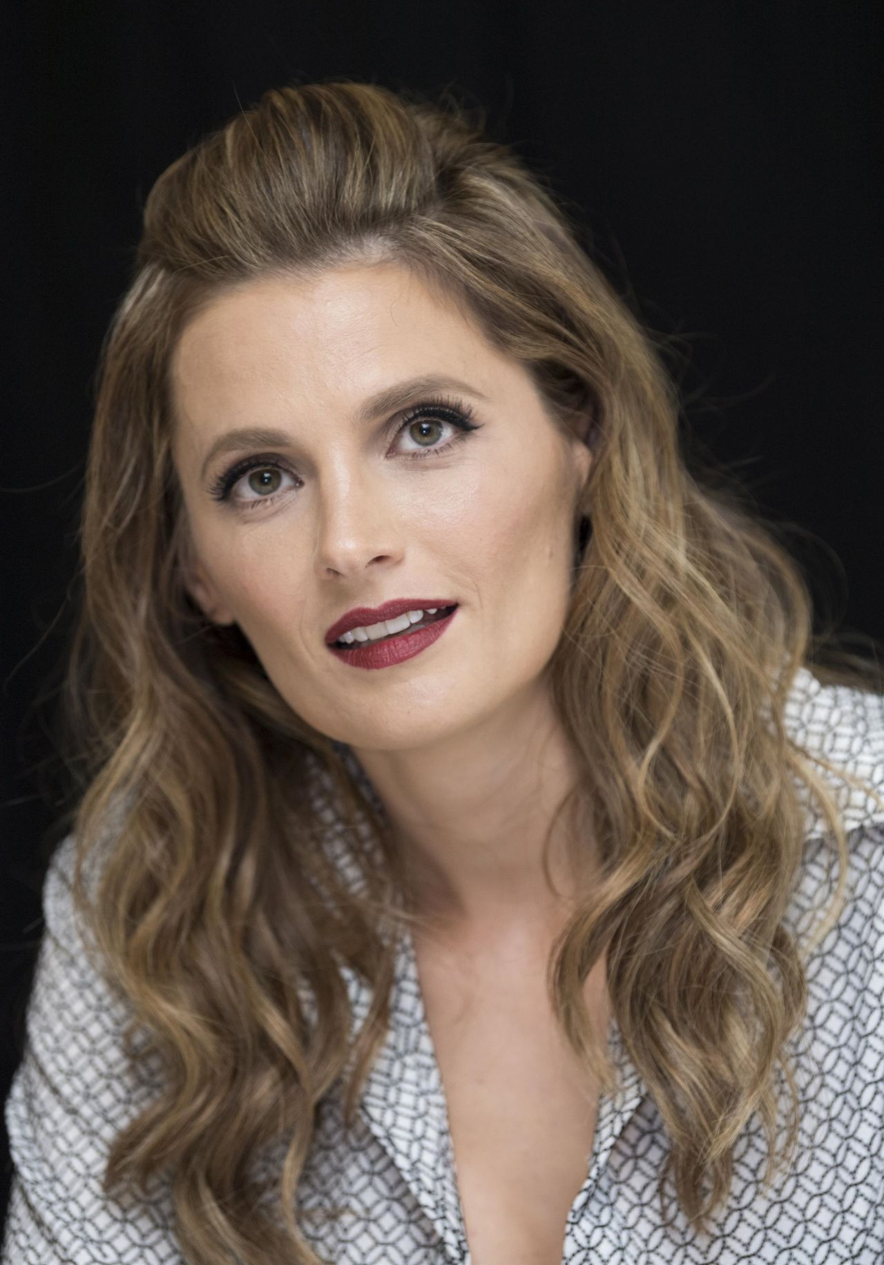 "Stana Katic - ""Absentia"" Press Conference in Los Angeles ..."