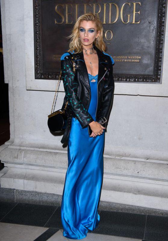 """Stella Maxwell – Pat McGrath """"A Technicolour"""" Launch Campaign Party in London"""