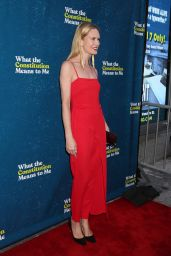 """Stephanie March – """"What The Constitution Means To Me"""" Opening Night in NY"""