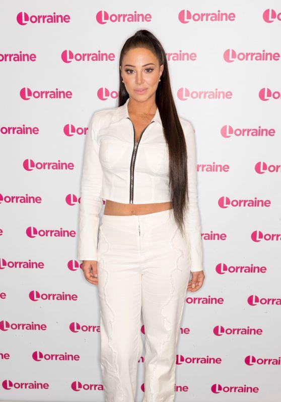 Tulisa Contostavlos - Lorraine TV Show in London 04/23/2019