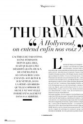 Uma Thurman - Madame Figaro 04/19/2019 Issue