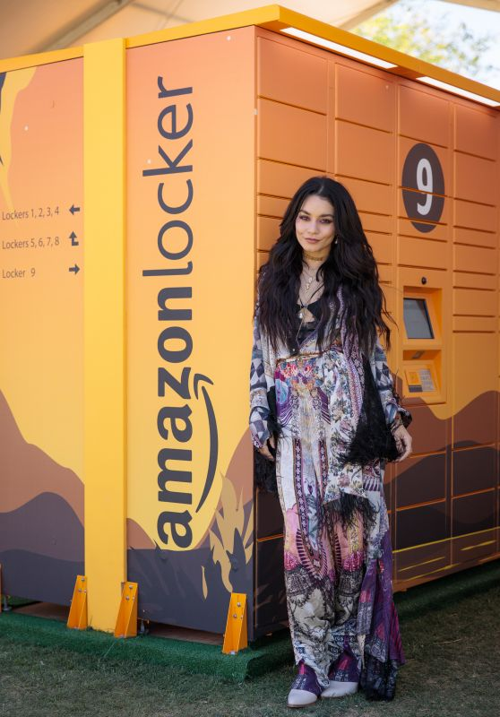 Vanessa Hudgens - Amazon Lockers at Coachella in Indio 04/12/2019