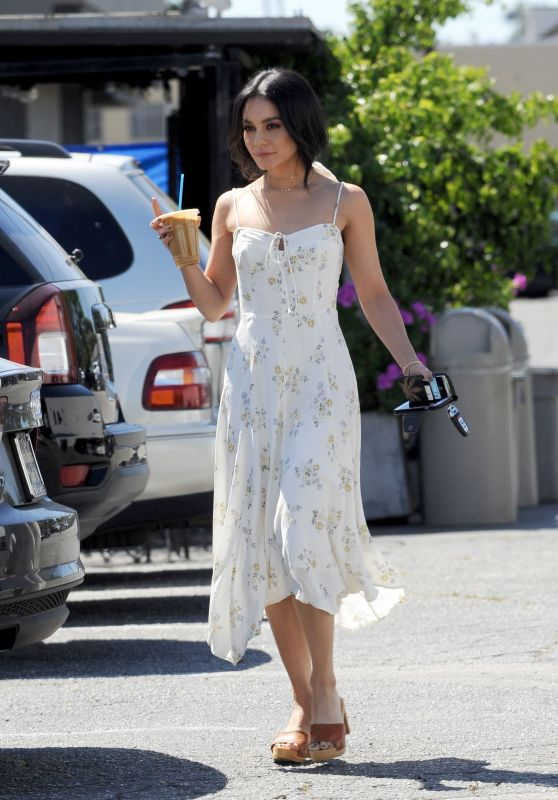 Vanessa Hudgens in Sundress 04/10/2019