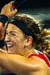 Victoria Azarenka - Australia vs Belarus Semi Final in Brisbane 04/20/2019