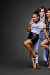 Victoria Justice and Christina Milian – The Rocky Horror Picture Show Portrait Studio at Comic-Con in San Diego 7/21/2016