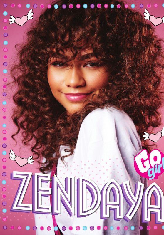 Zendaya Coleman - Go Girl Magazine Issue 284