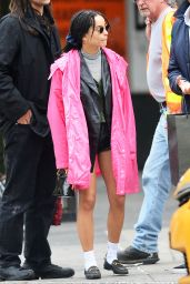 Zoe Kravitz - Out in New York 04/20/2019
