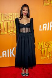 "Zoe Saldana - ""Missing Link"" Premiere in NY"