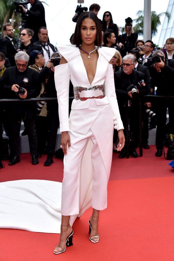"Cindy Bruna – ""La Belle Epoque"" Red Carpet at the 72nd Cannes Film Festival 05/20/2019"
