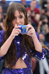 """Adele Exarchopoulos - """"Sibyl"""" Photocall at Cannes Film Festival"""
