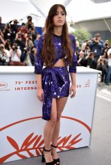 "Adele Exarchopoulos - ""Sibyl"" Photocall at Cannes Film Festival"