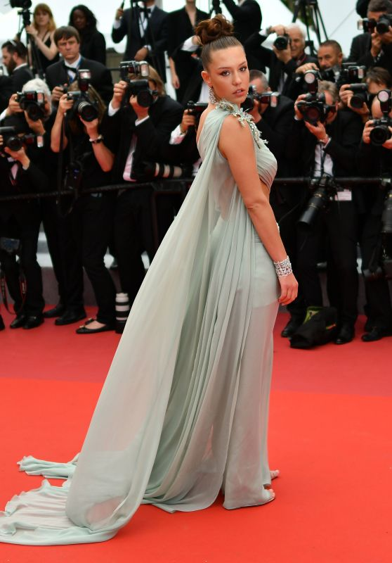 "Adele Exarchopoulos – ""Sibyl"" Red Carpet at Cannes Film Festival"