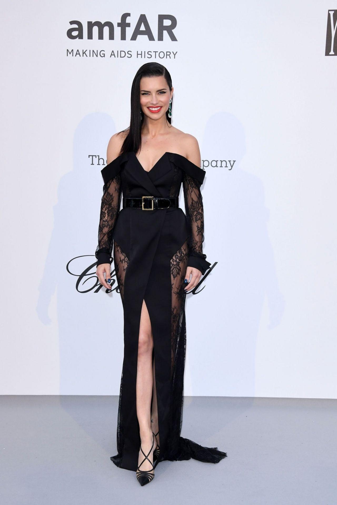 Adriana Lima Amfar Cannes Gala 2019