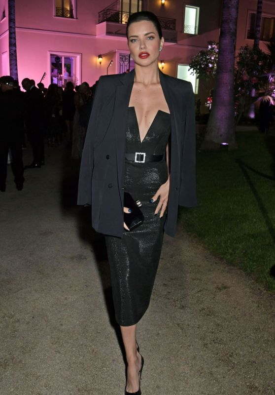 Adriana Lima - Private Dinner Hosted by Alejandro Agag in Cannes 05/22/2019