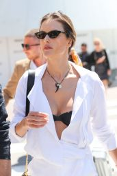 Alessandra Ambrosio - Out in Cannes 05/14/2019