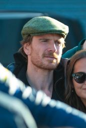 Alicia Vikander and Michael Fassbender - Visit Michael