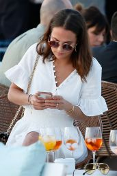 Alicia Vikander Street Style - Holiday in Ibiza 05/22/2019