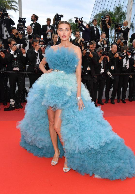 "Alina Baikova – ""A Hidden Life"" Red Carpet at Cannes Film Festival"