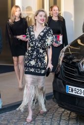 Amber Heard at the Martinez Hotel in Cannes 05/16/2019