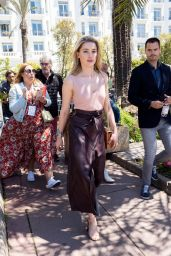 Amber Heard - La Plage du Martinez in Cannes 05/16/2019