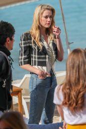 Amber Heard - Martinez Beach in Cannes 05/16/2019