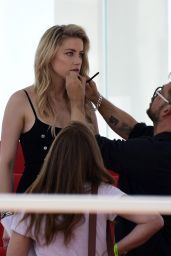 Amber Heard - Photoshoot During the Cannes Film Festival 05/16/2019
