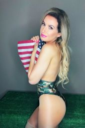 Ana Braga - Memorial Day Photoshoot in Honor of the Armed Forces 05/22/2019