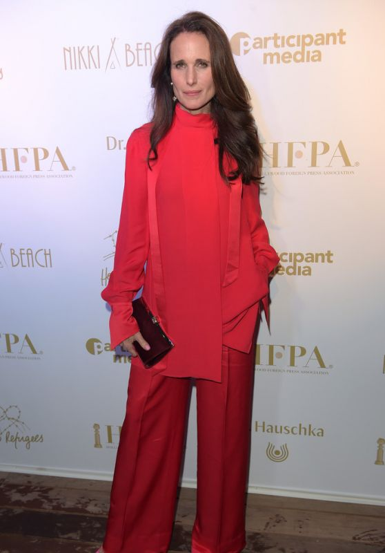 Andie MacDowell – HFPA & Participant Media Honour Refugees at Cannes Film Festival