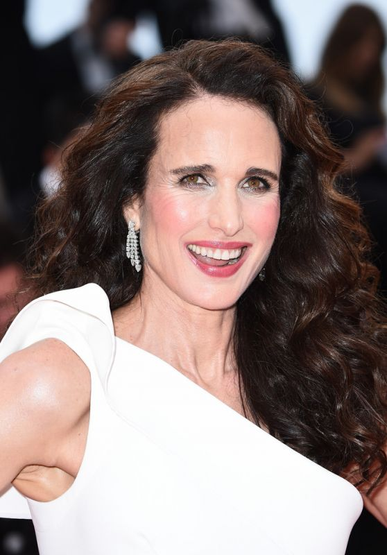"Andie MacDowell – ""The Best Years of a Life"" Red Carpet at Cannes Film Festival"