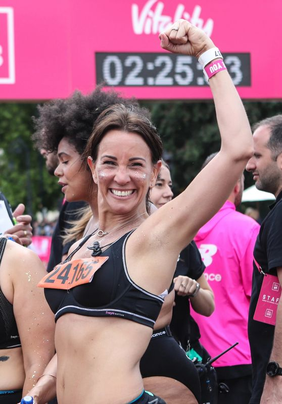 Andrea McLean - Vitality 10K Run in London 05/27/2019