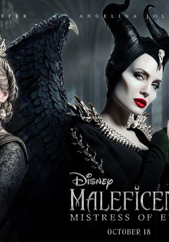 Angelina Jolie Maleficent Mistress Of Evil 2019 Posters Celebmafia