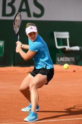 Angelique Kerber – Practises During the Roland Garros in Paris 05/24/2019