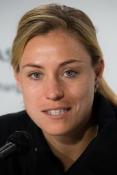 Angelique Kerber – Talks to the Press Ahead of the Roland Garros in Paris 05/24/2019