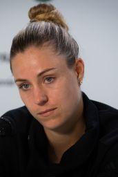 Angelique Kerber Talks to the Press – Roland Garros in Paris 05/26/2019